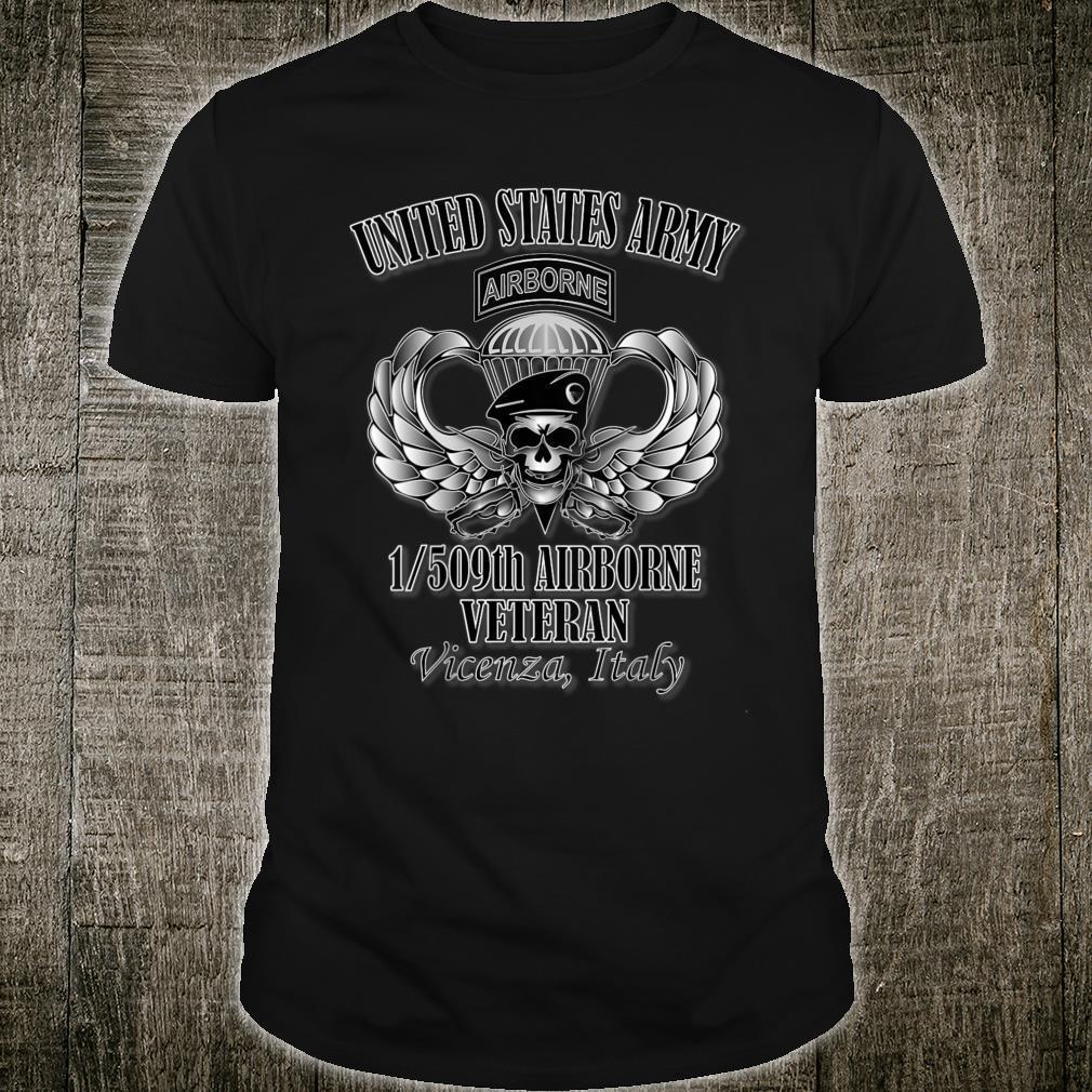 1509th Airborne Veteran Back Design Shirt