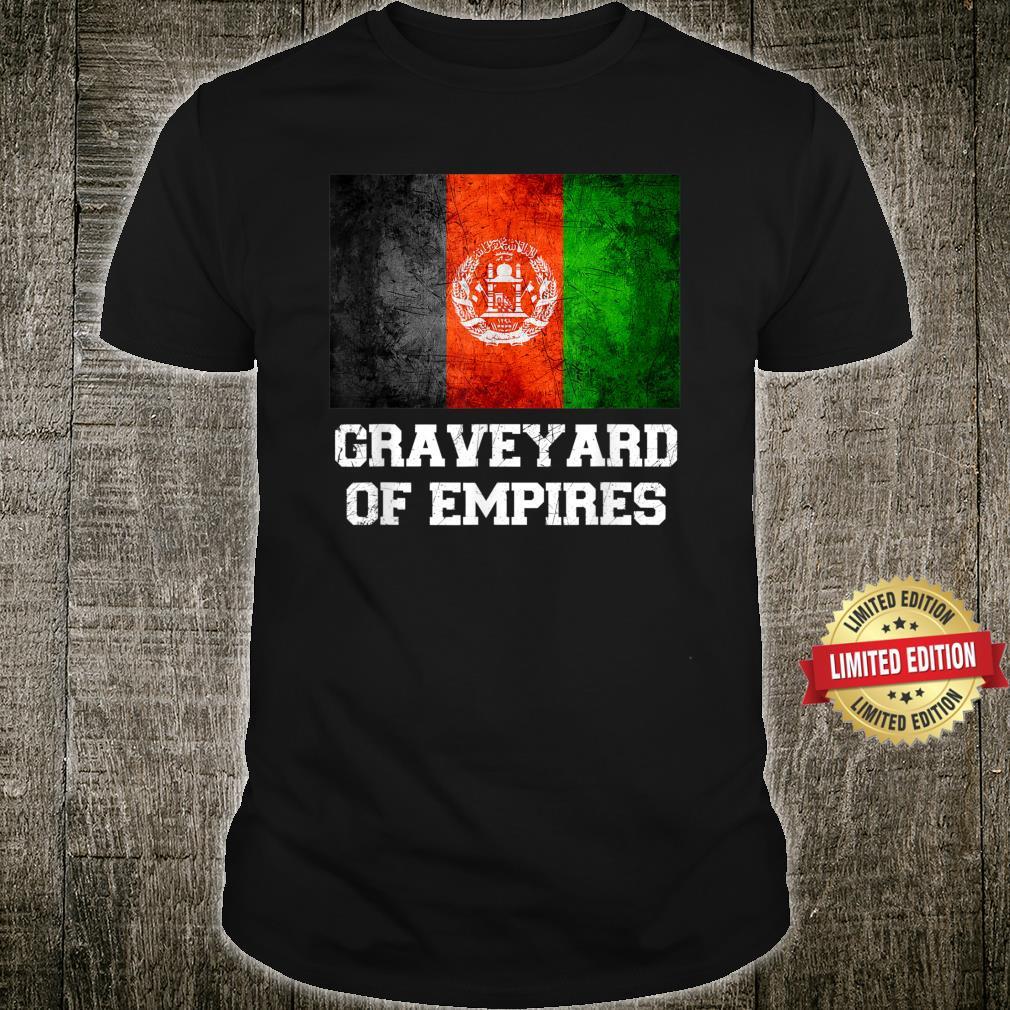 Afghanistan, Graveyard of Empires Shirt