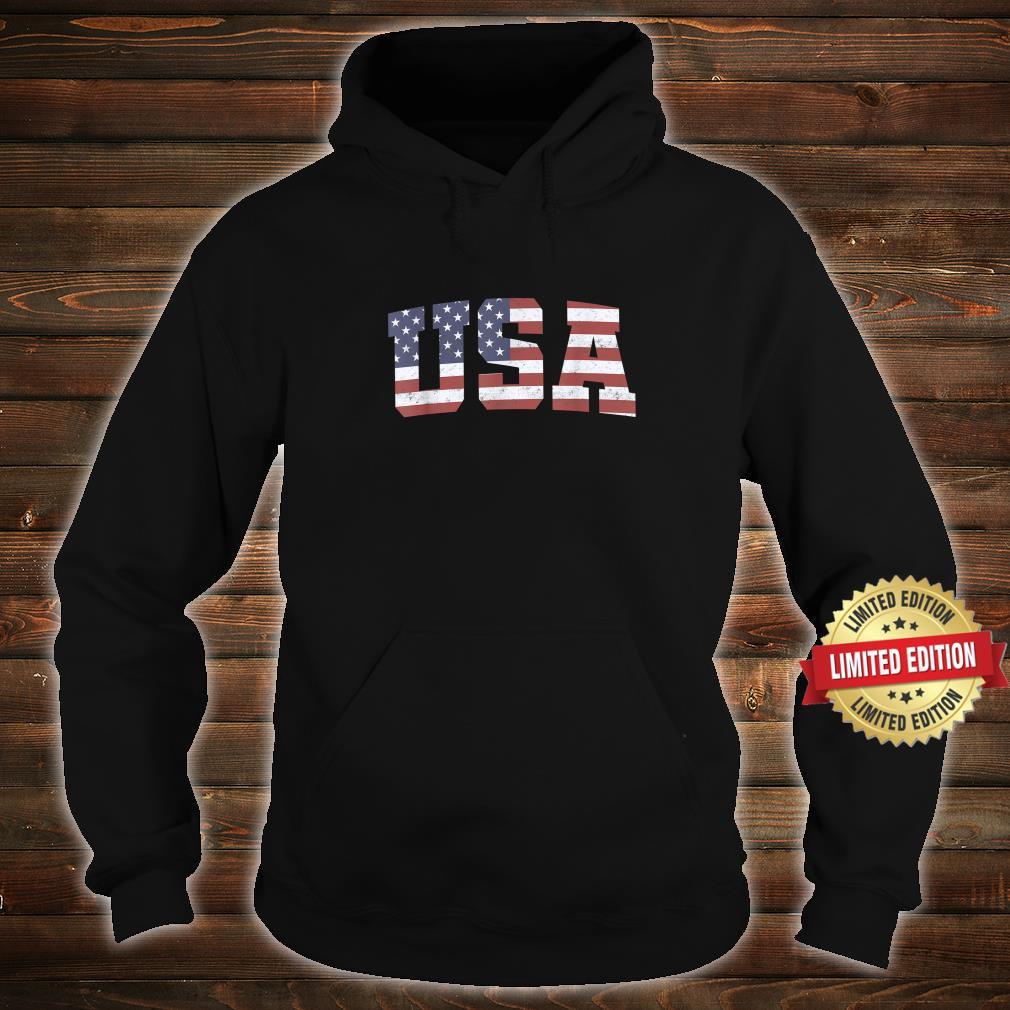American Flag USA Patriotic 4th Of July Shirt hoodie