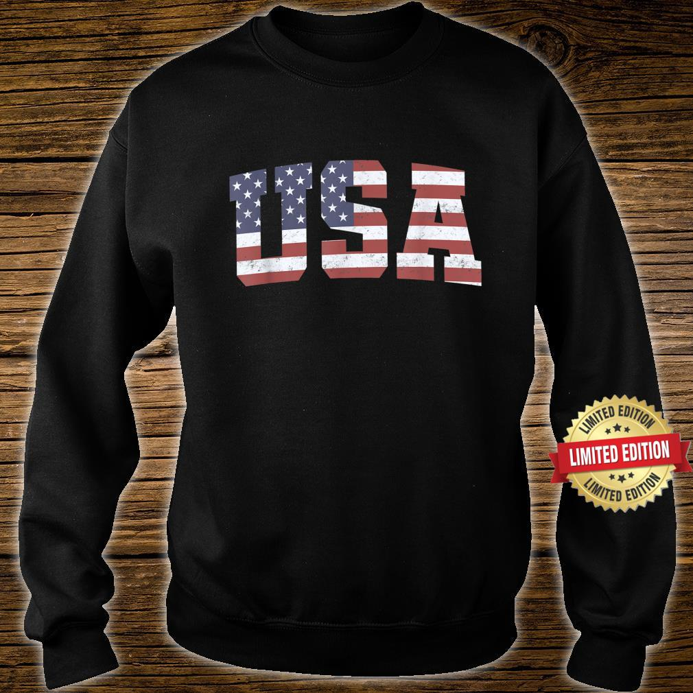 American Flag USA Patriotic 4th Of July Shirt sweater