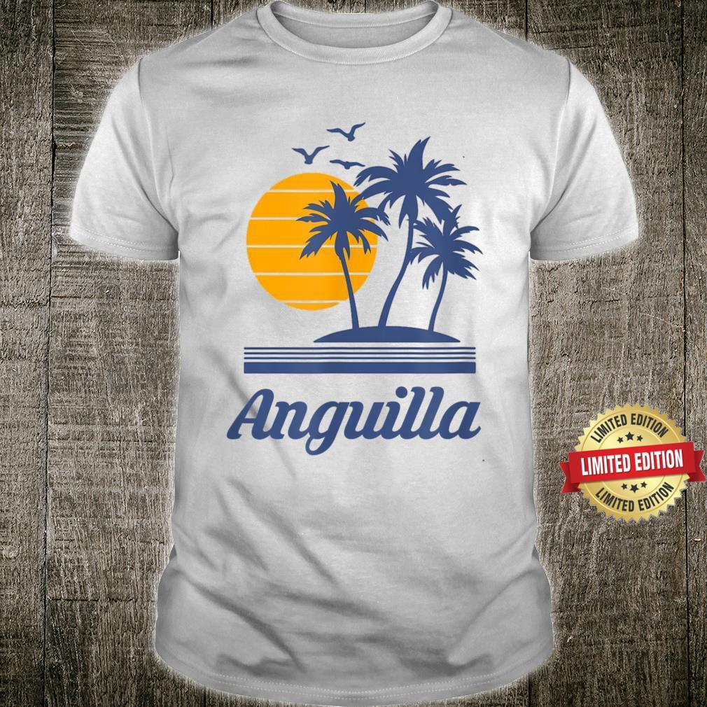 Anguilla Country Beach Island Tourist Shirt