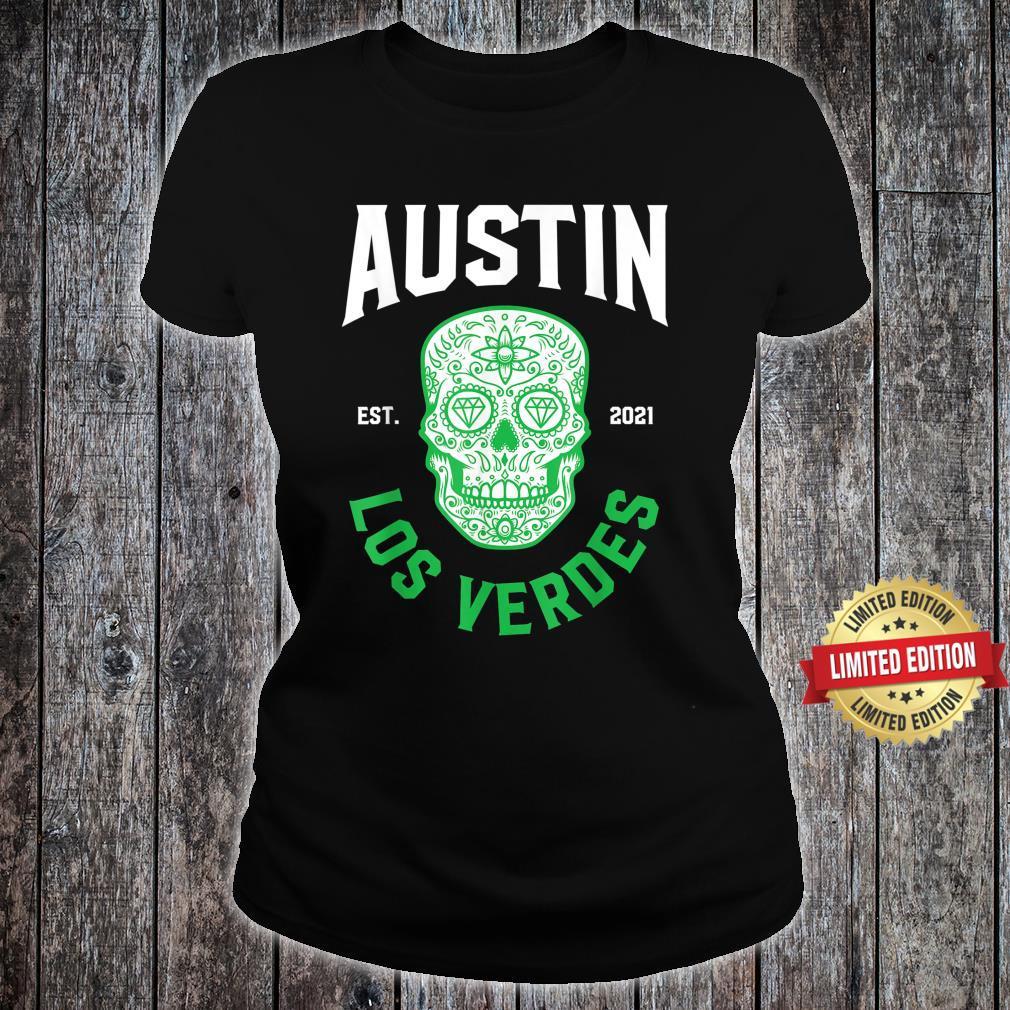 Austin Verdes Gear Austin Futbol Austin Soccer FC Verde Shirt ladies tee
