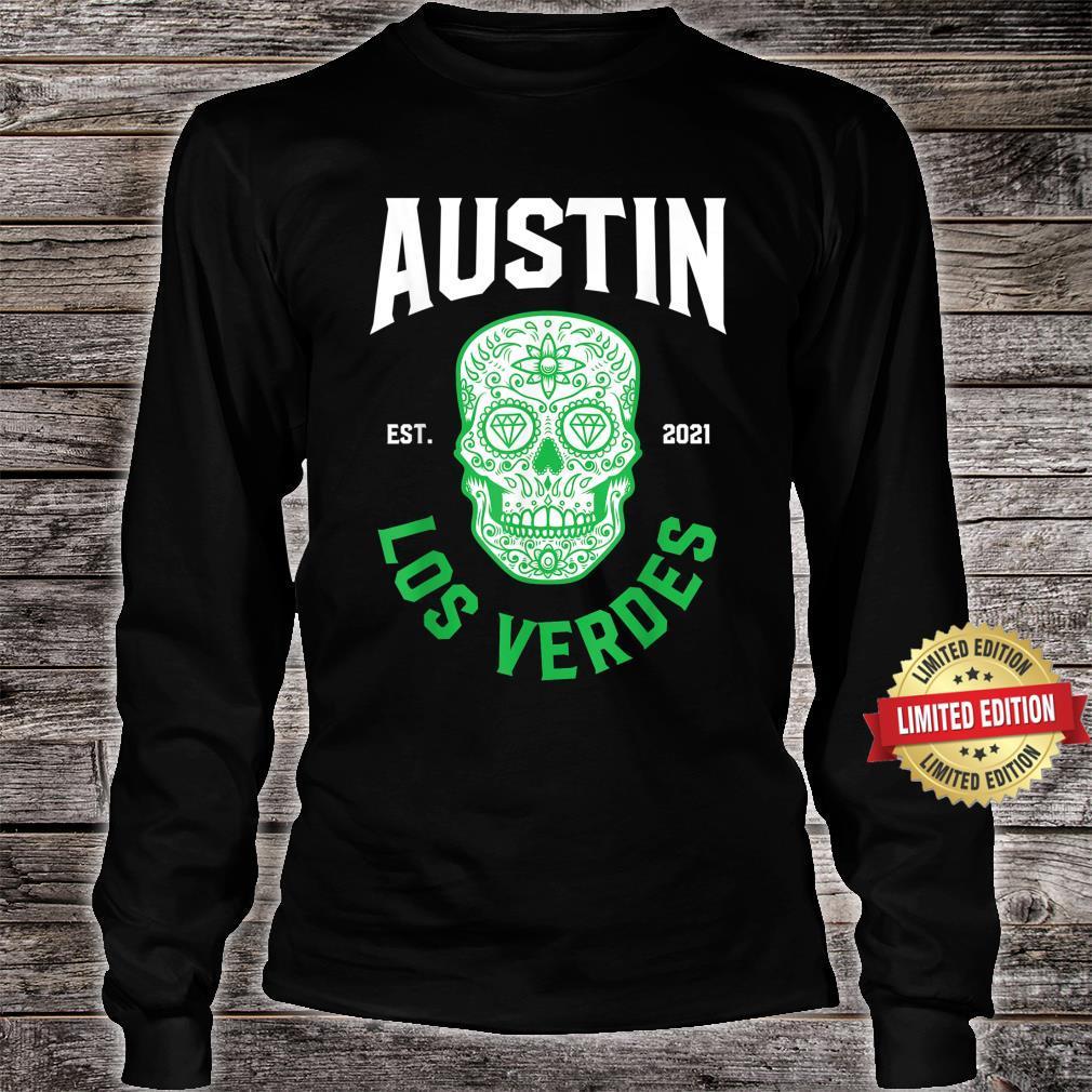Austin Verdes Gear Austin Futbol Austin Soccer FC Verde Shirt long sleeved
