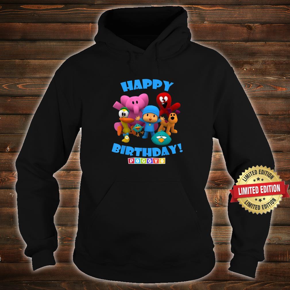Happy Birthday Boy Girl Pocoyo Shirt hoodie