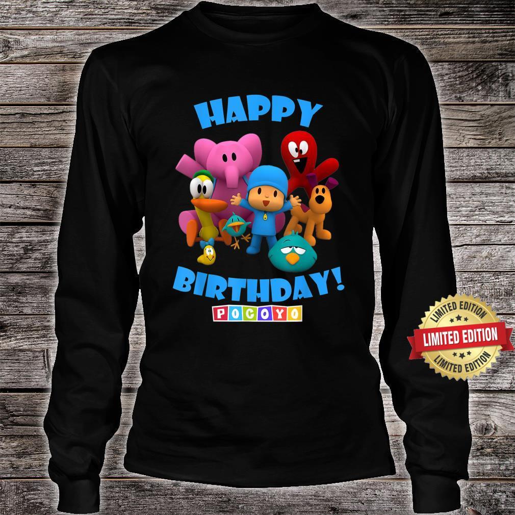 Happy Birthday Boy Girl Pocoyo Shirt long sleeved