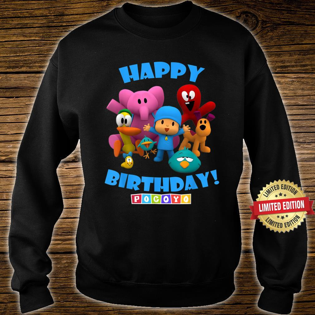 Happy Birthday Boy Girl Pocoyo Shirt sweater