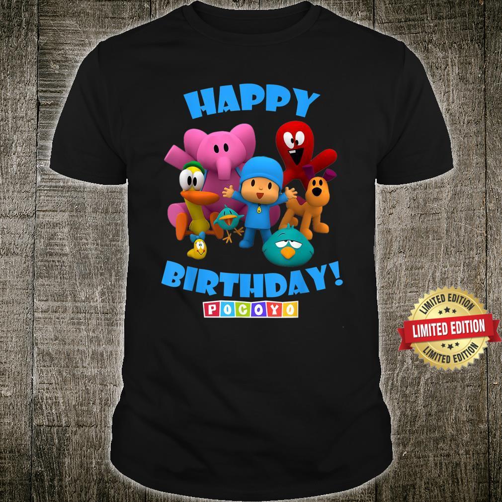 Happy Birthday Boy Girl Pocoyo Shirt