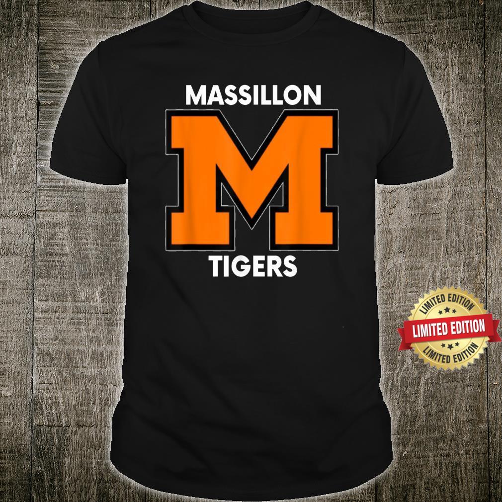 Massillon M Sports, Football, Baseball, Basketball. Tigers Shirt