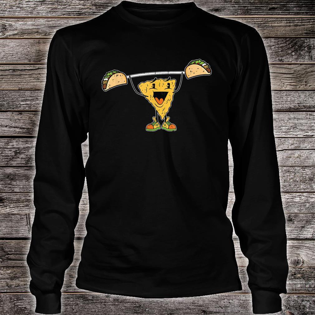 Nacho Liftting Cinco De Mayo Mexican Food Workout Gym Shirt long sleeved