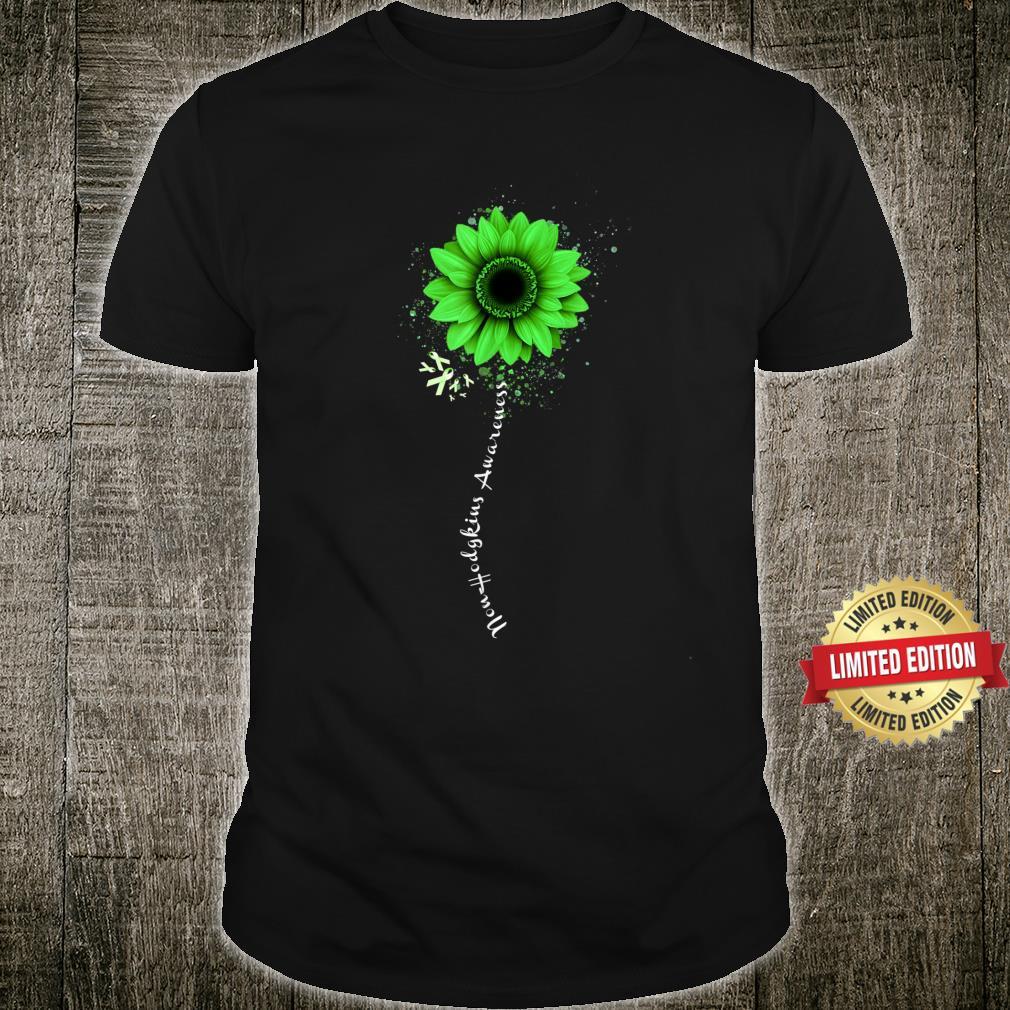 NonHodgkins Lymphoma Awareness Warrior Pretty Shirt