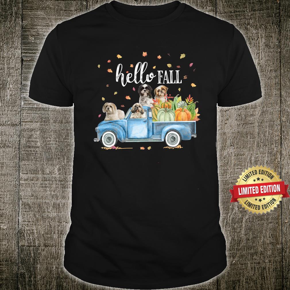 Shih Tzu Hello Fall Gift for you Shirt