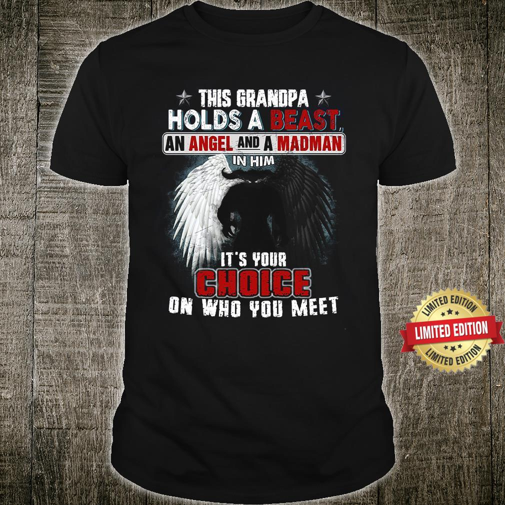 This Grandpa Holds A Beast An Angle AND A MAdman In Him Shirt