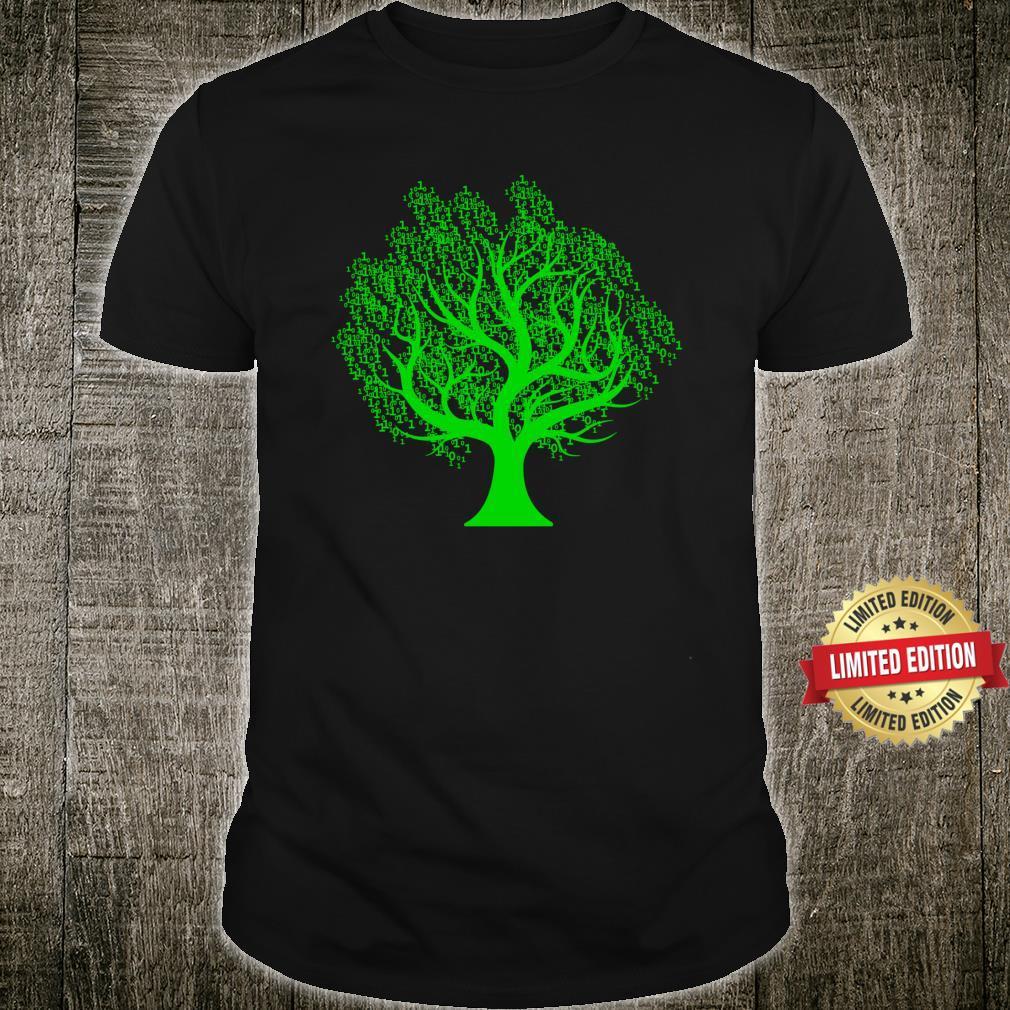 Tree Algorithm Program Code Programmer Coding Computer IT Shirt