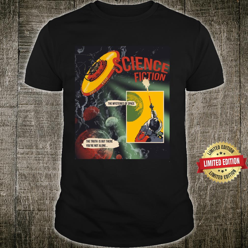 Ufo Truth Aliens Are Out There Flying Saucer 50's Abduction Shirt