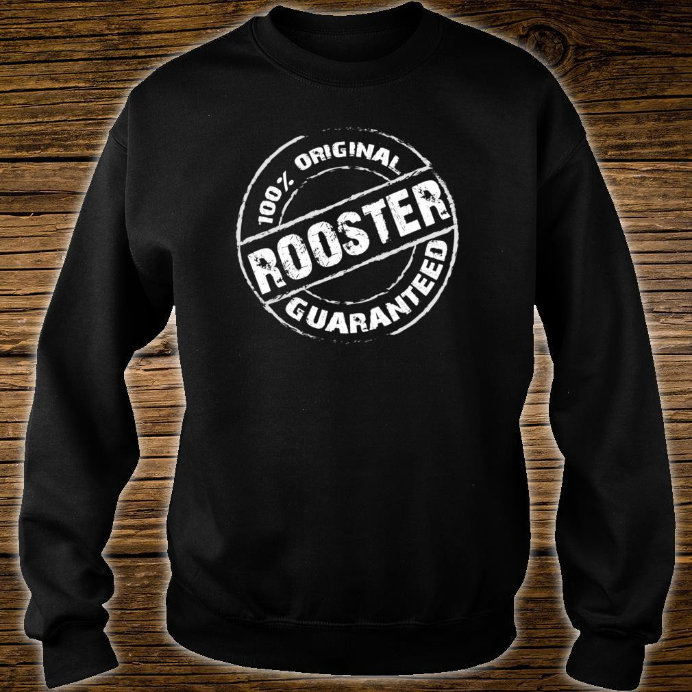 100% Original ROOSTER Guaranteed Design ROOSTERS Shirt sweater
