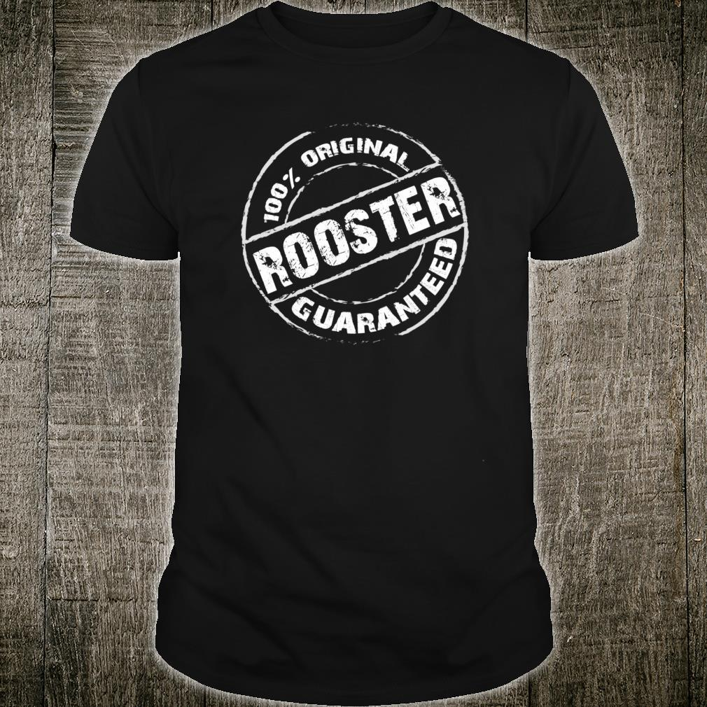 100% Original ROOSTER Guaranteed Design ROOSTERS Shirt