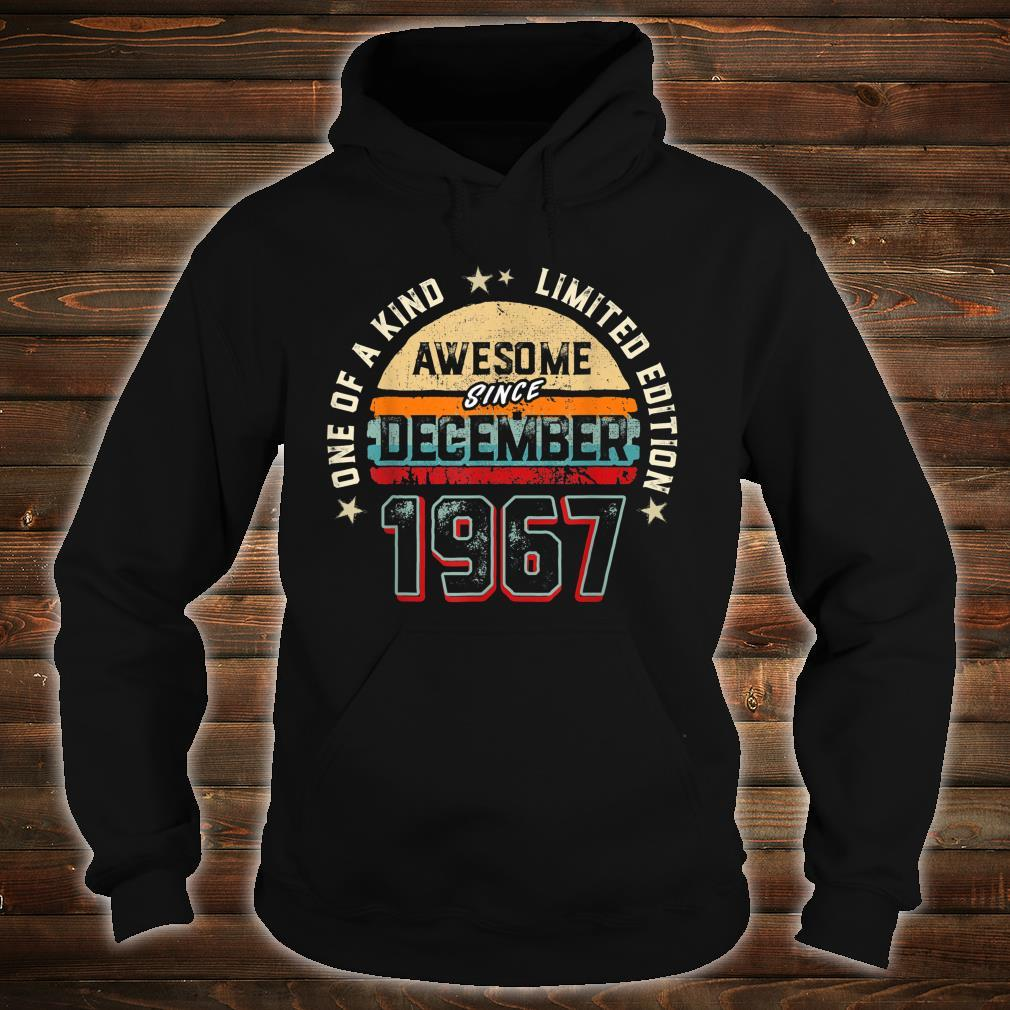 53 Years Old Awesome Since 1967 Shirt hoodie