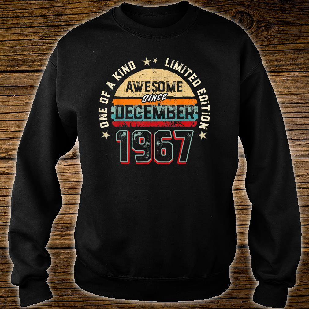 53 Years Old Awesome Since 1967 Shirt sweater