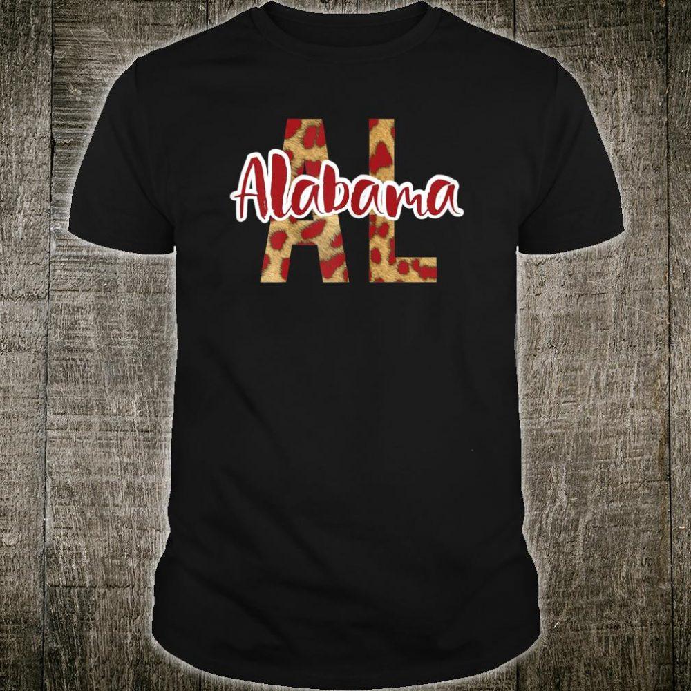 Alabama Leopard Cheetah Travel Shirt