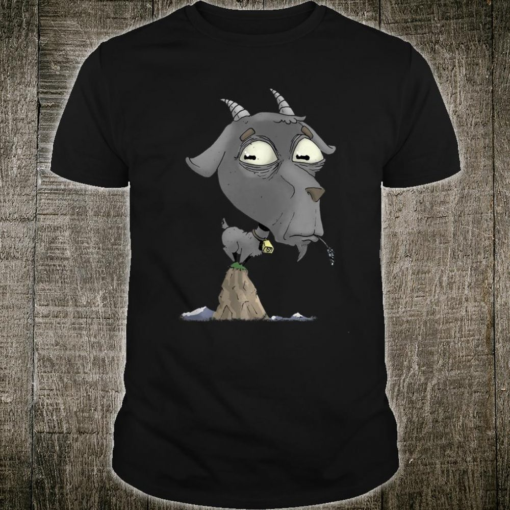 Billy Goat on a Mountain Top Shirt