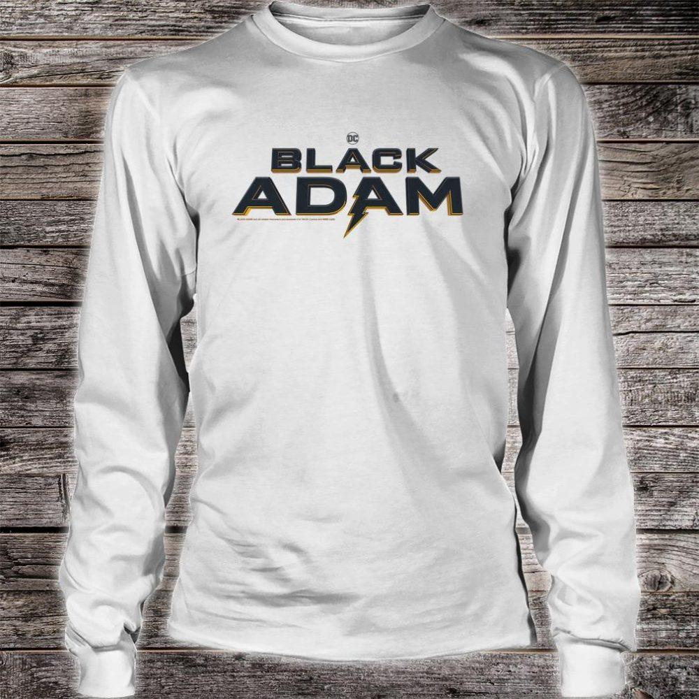 Black Adam DC Fandome Shirt long sleeved