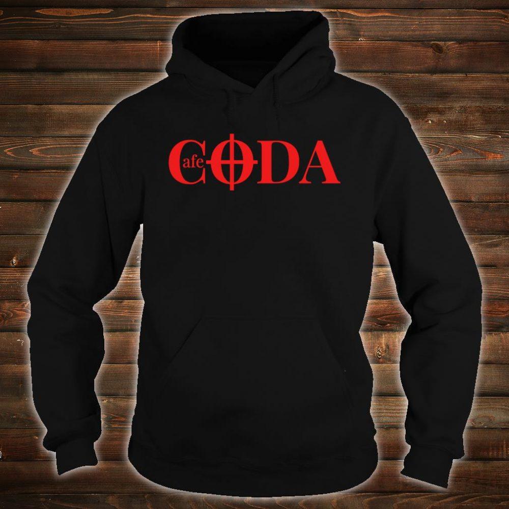 Cafe CODA makes music together Shirt hoodie