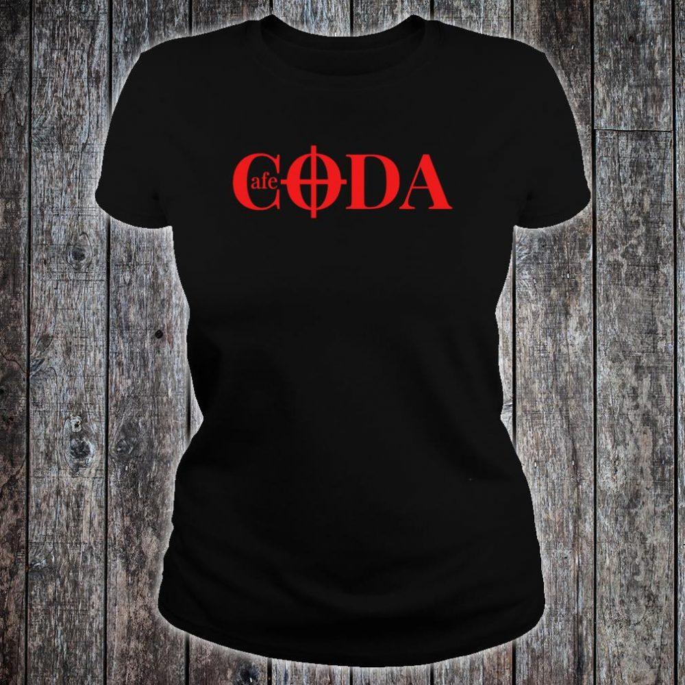 Cafe CODA makes music together Shirt ladies tee