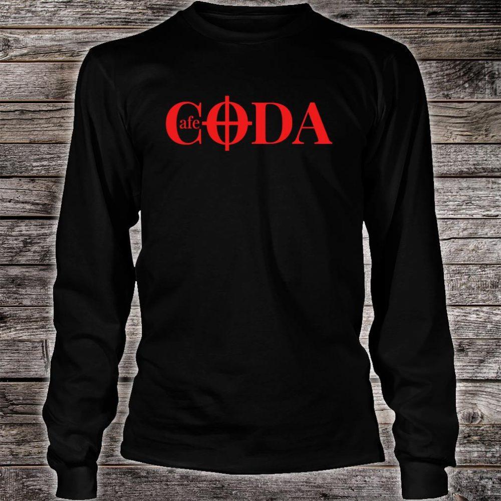 Cafe CODA makes music together Shirt long sleeved