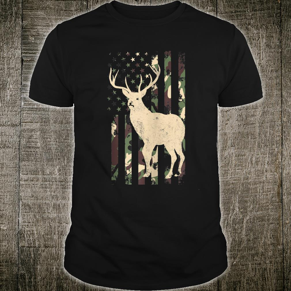 Camouflage American Deer Hunting Shirt