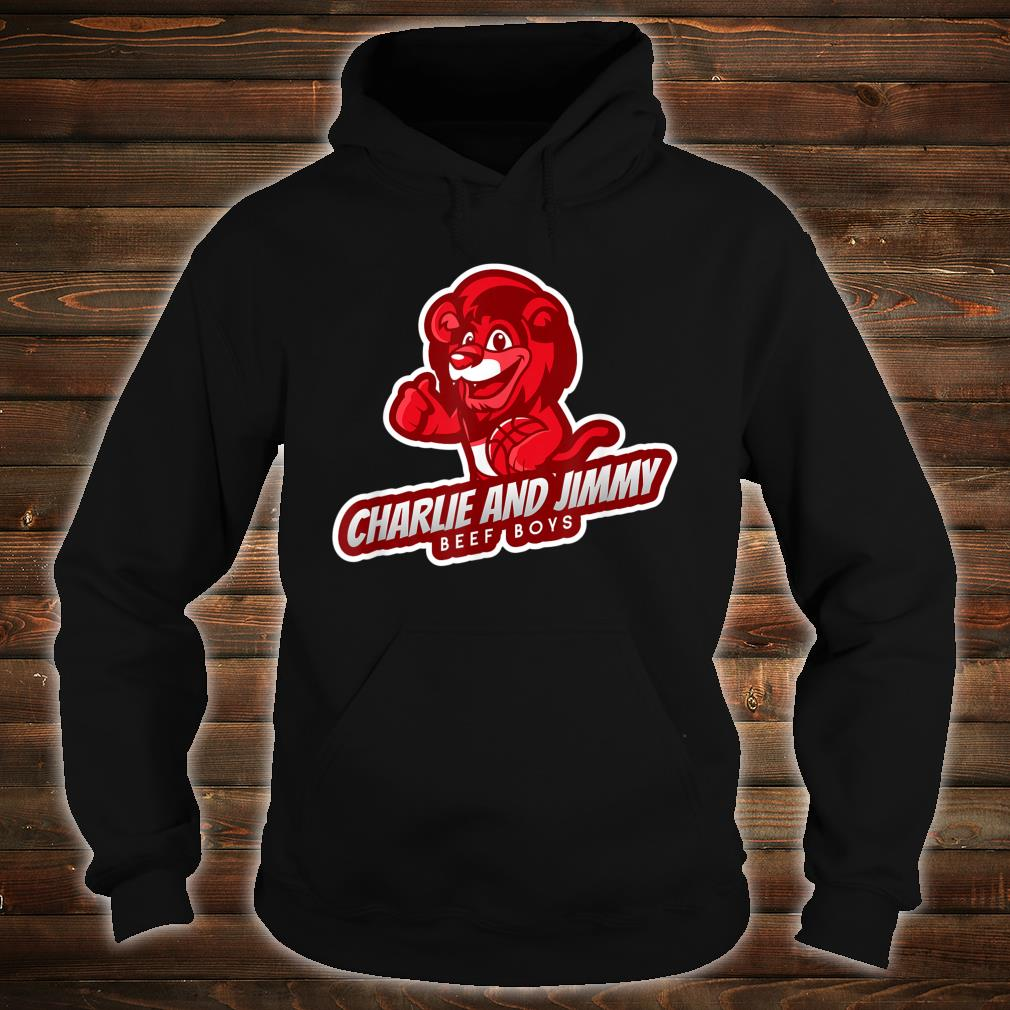 Charlie and Jimmy Beef Boys Shirt hoodie