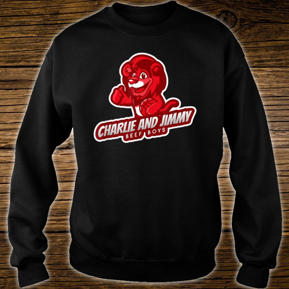 Charlie and Jimmy Beef Boys Shirt sweater