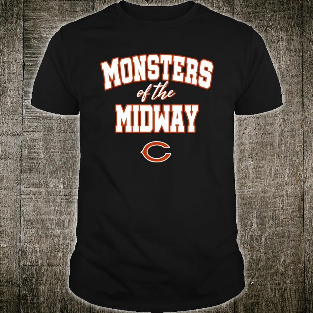 Chicago Monsters Of The Midway Bears Shirt