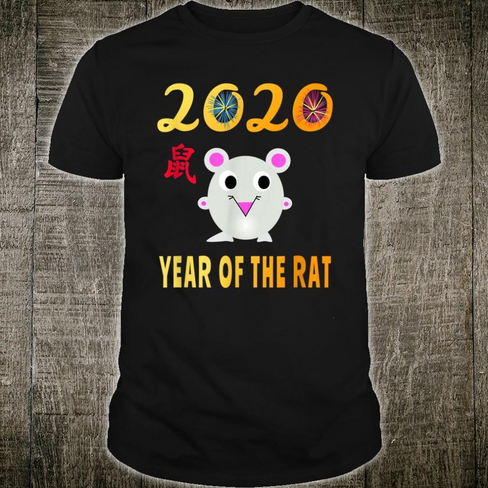 Chinese New Year 2020 Year of the Rat Chinese Shirt