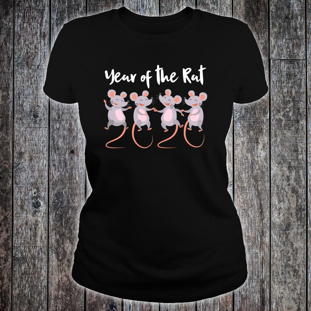 Chinese New Year gifts 2020 Kids Year of the Rat Shirt ladies tee