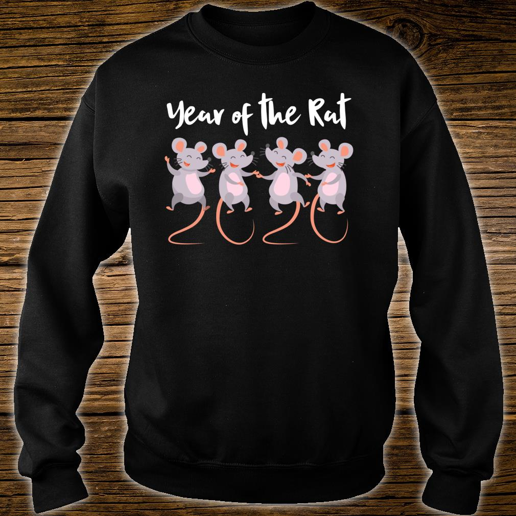 Chinese New Year gifts 2020 Kids Year of the Rat Shirt sweater
