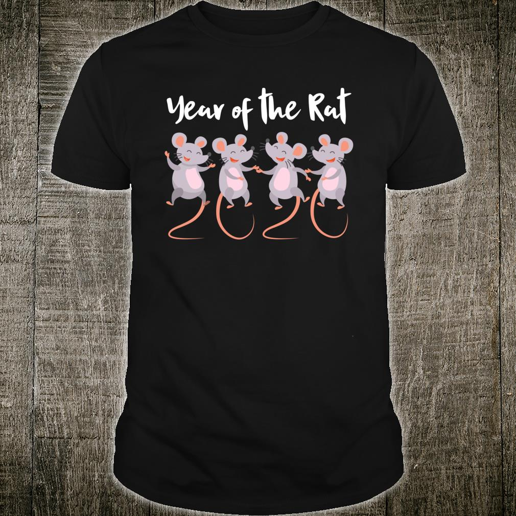 Chinese New Year gifts 2020 Kids Year of the Rat Shirt