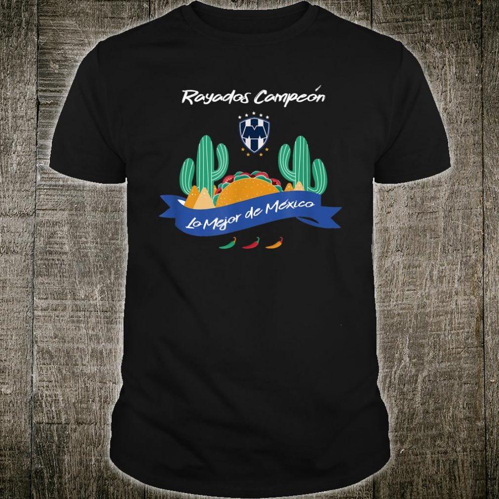 Club Futbol Monterrey Mexican Soccer Jersey Shirt