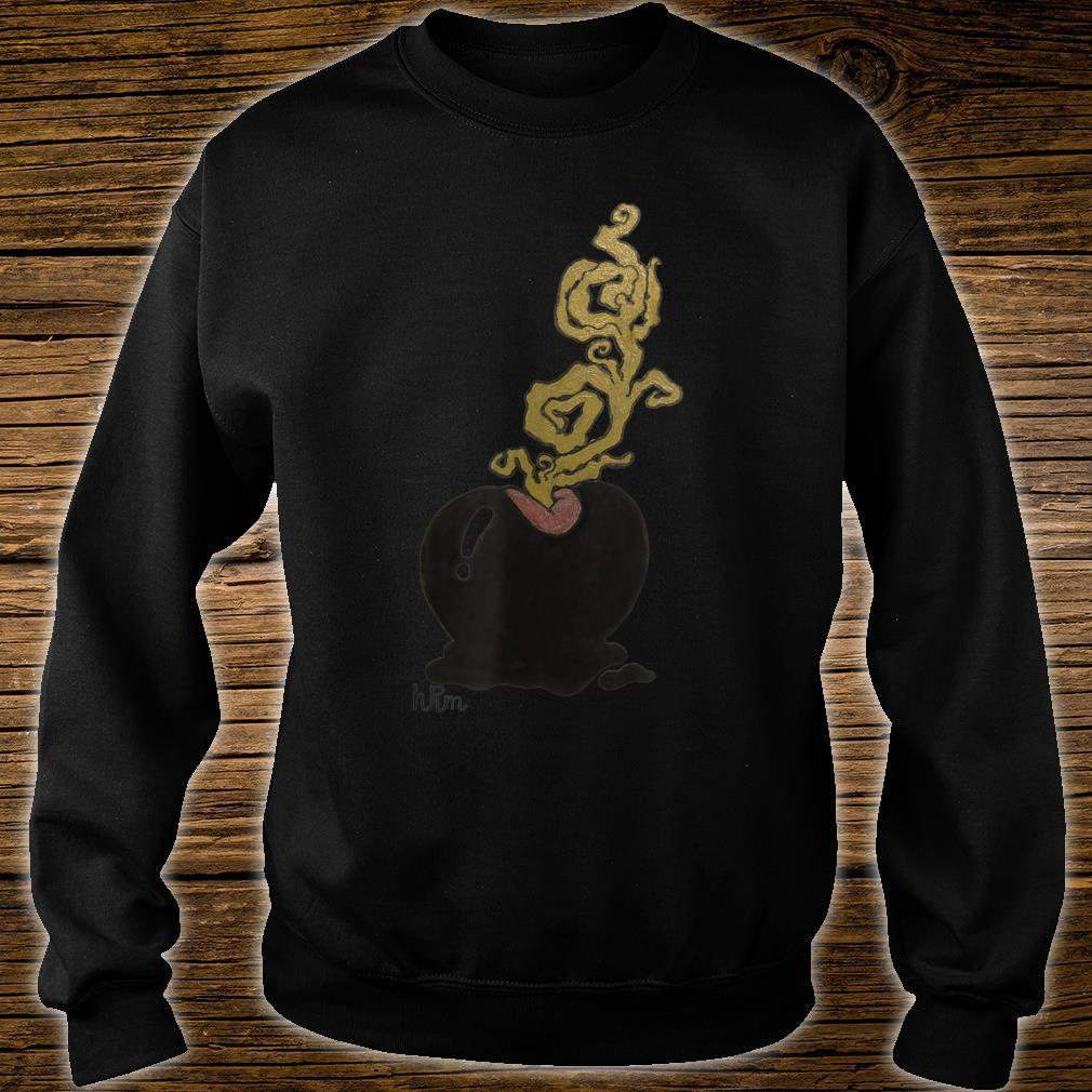 Color Misty Apple Artwork by HRM Shirt sweater