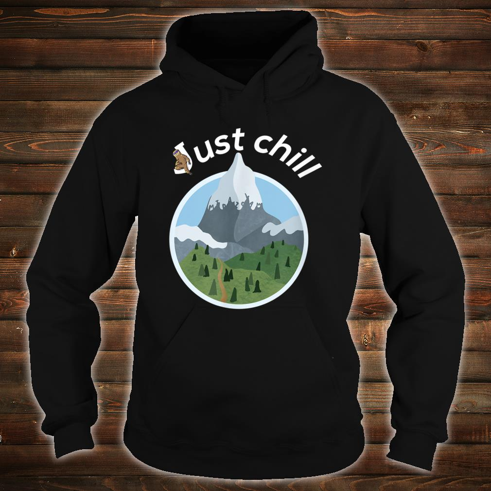 Cool mountains and trees anesthesia and critical care Shirt hoodie