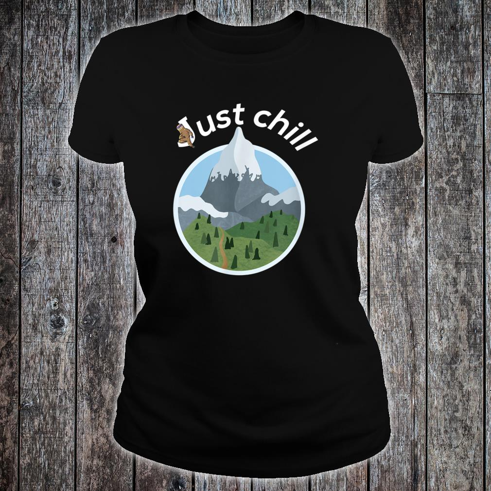 Cool mountains and trees anesthesia and critical care Shirt ladies tee