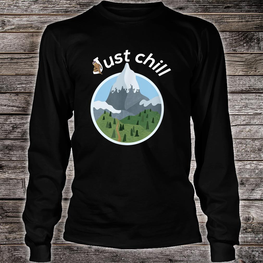Cool mountains and trees anesthesia and critical care Shirt long sleeved
