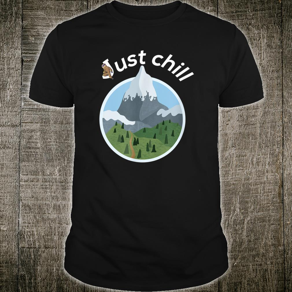 Cool mountains and trees anesthesia and critical care Shirt