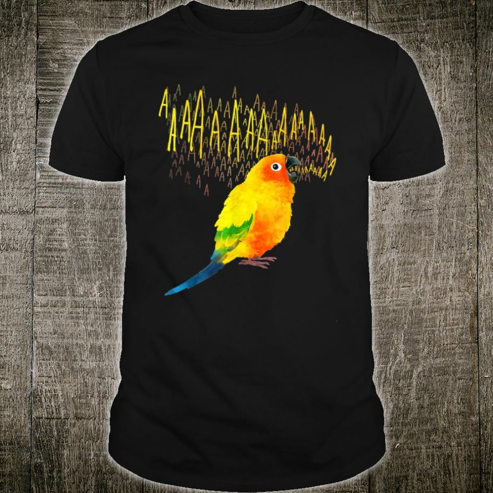 Crazy Screaming Sun Conure Shirt