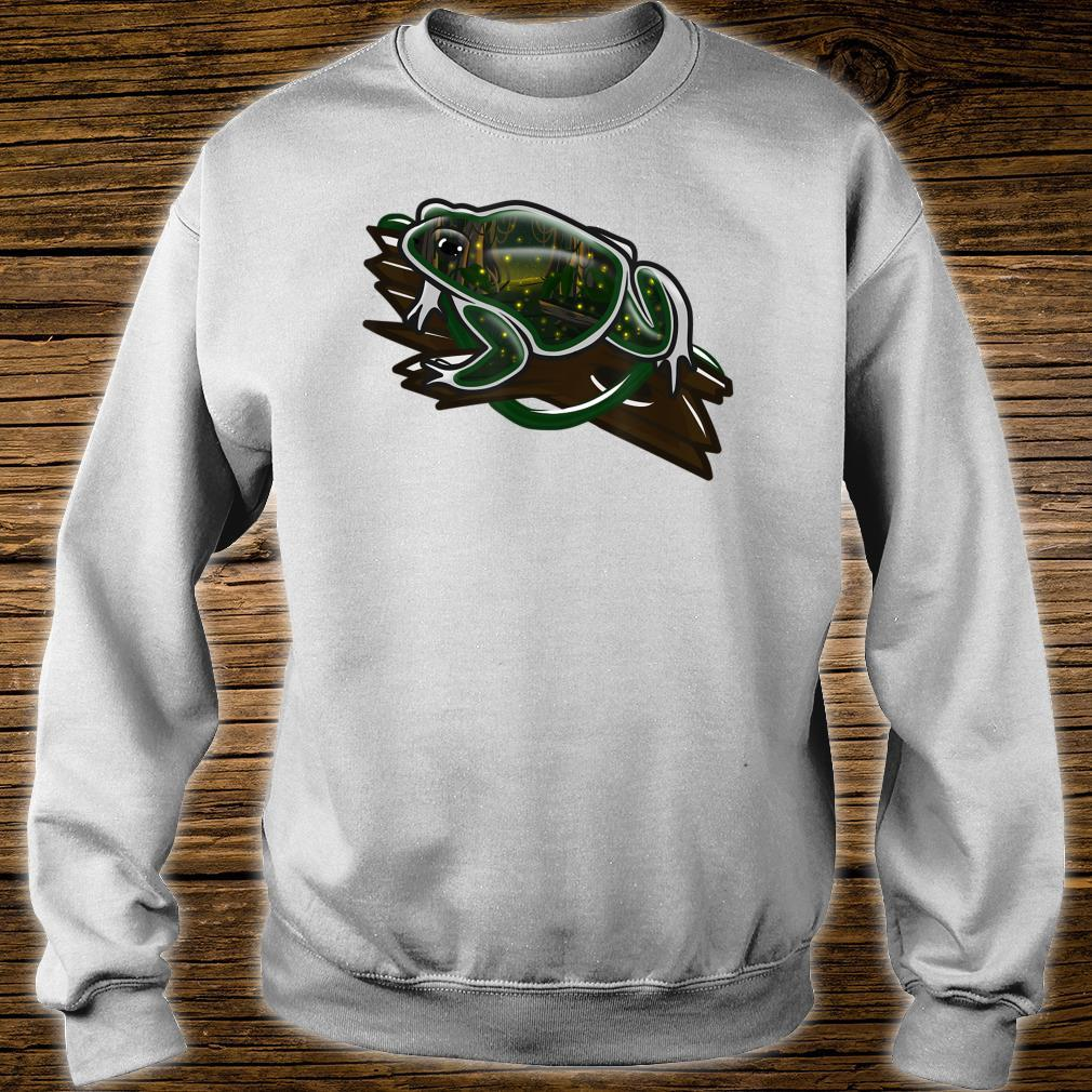 Crystal Swamp Toad Shirt sweater