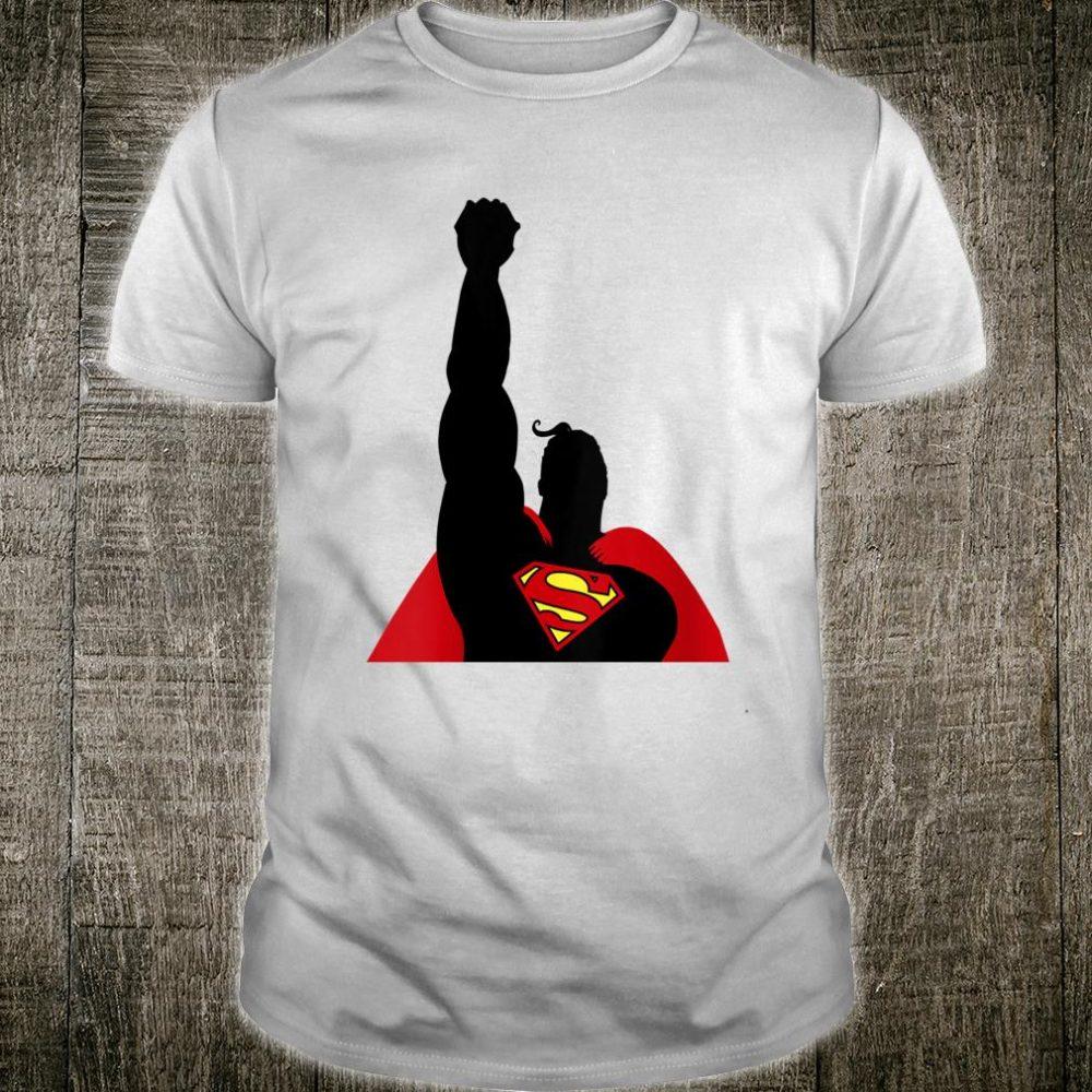 DC Fandome Superman In Flight Silhouette Shirt