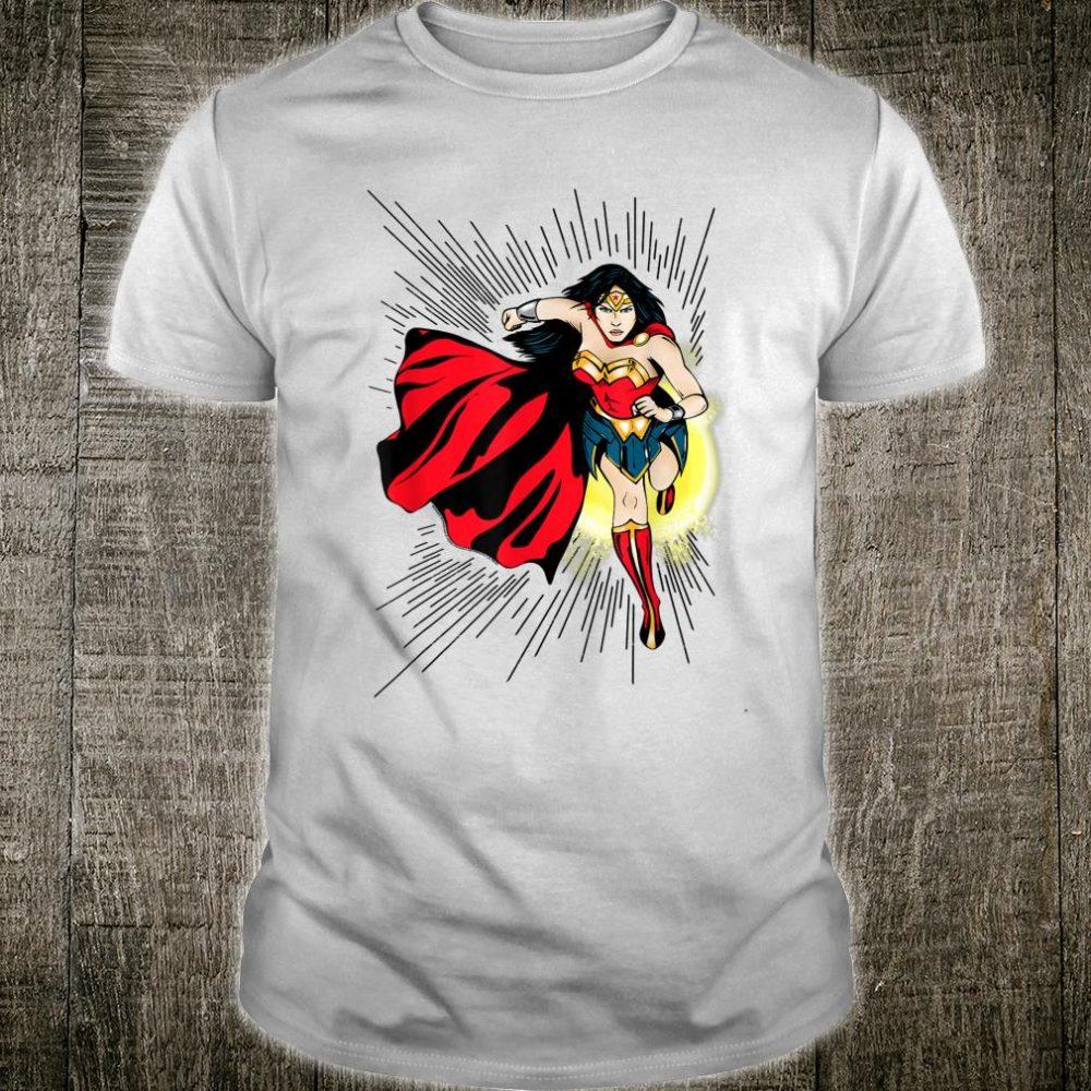 DC Fandome Wonder Woman Action Shot Portrait Shirt