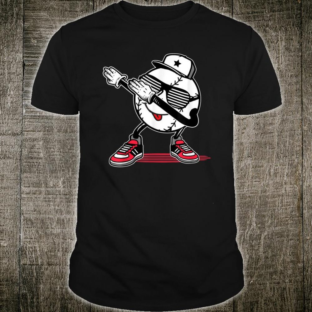 Dabbing Baseball Player Dab Present For Baseball Lovers Shirt