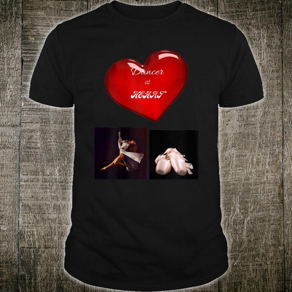 Dancer at Heart Dance Shirt