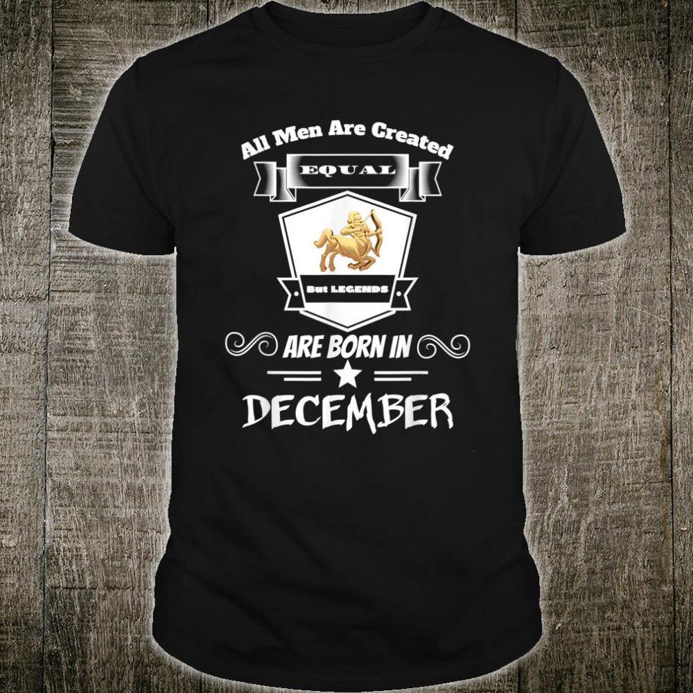 December Birthday Shirt