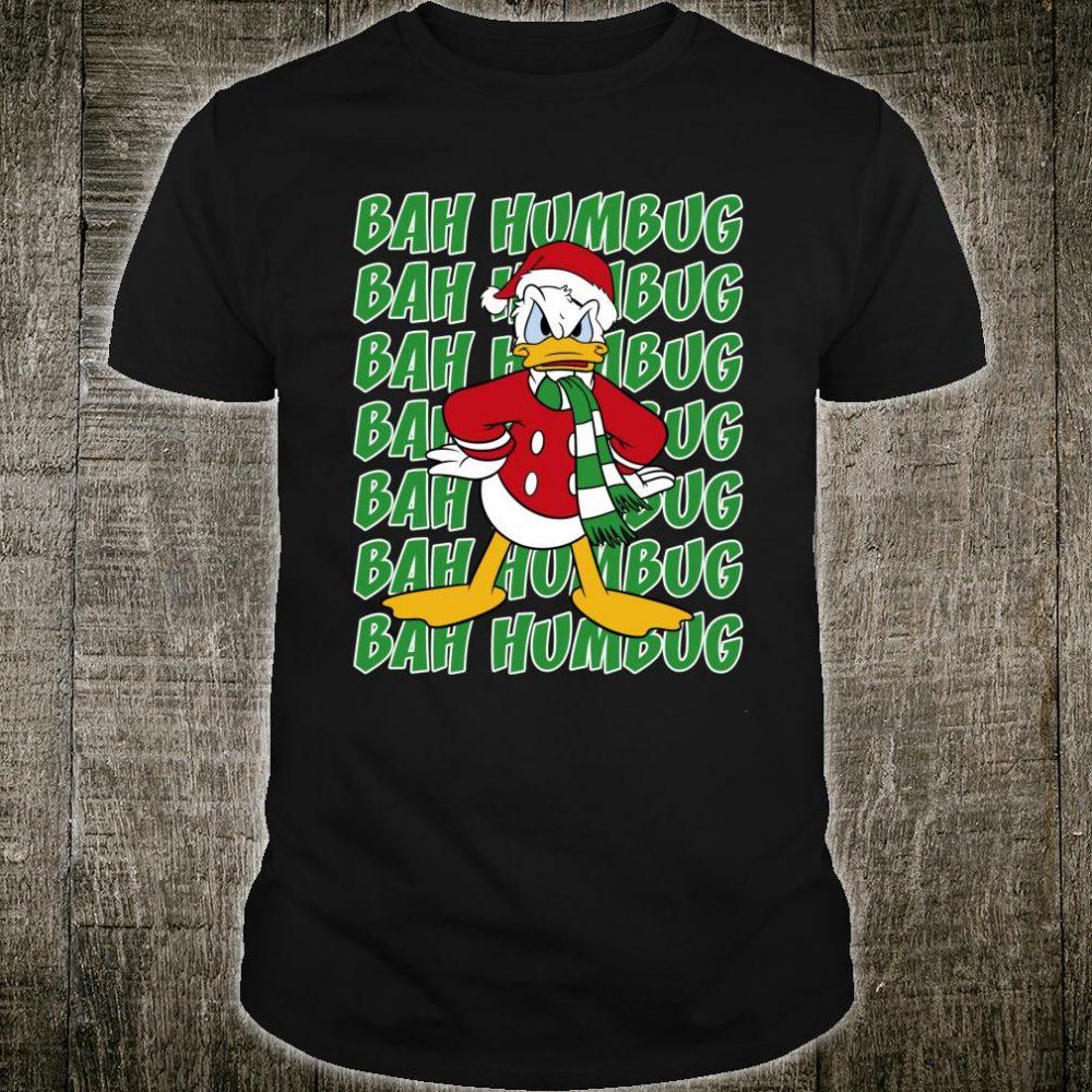 Disney Donald Duck Bah Humbug Christmas Shirt